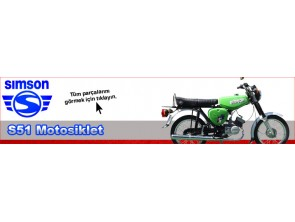 Simson S51 Motorcycle Parts