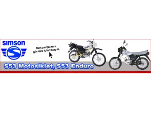 Simson S53 Motorcycle, S53 Enduro Parts