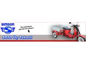 Simson SD50 Motosiklet (Üç Tekerli)